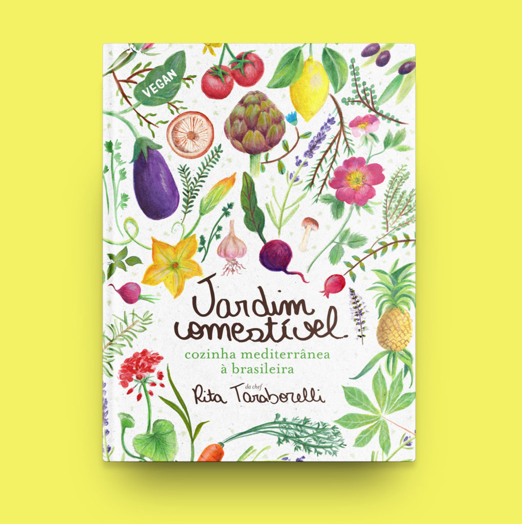 Livro Jardim Comestível – Cozinha Mediterrânea à Brasileira 1