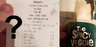 Absurdo! McDonald's serve wrap com frango para vegano