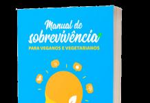 livro Manual de sobrevivência para veganos e vegetarianos, autoajuda vegana, livro de autoajuda