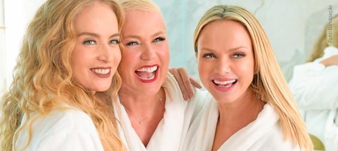 Xuxa, Angélica e Eliana lançam coleção de batons veganos com vídeo ironizando rivalidade 1